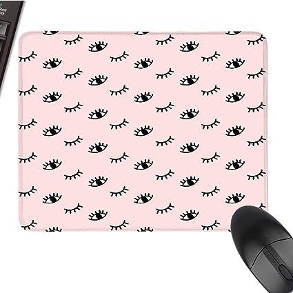 Amazon com : EyelashOffice Mouse PadDoodle Style Open and