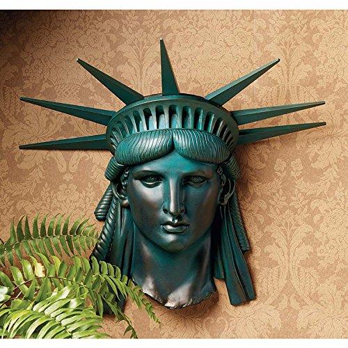 Design Toscano Statue of Liberty 1886 Wall Frieze