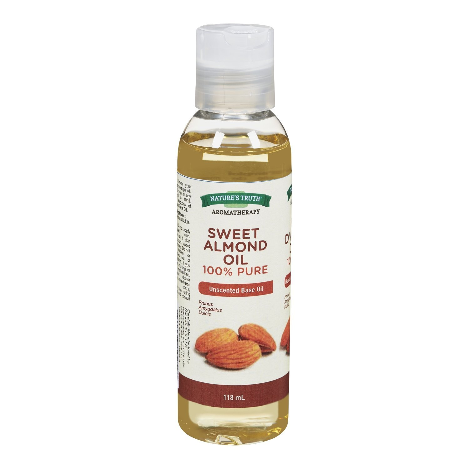 Nature's Truth Essential Oil - Sweet Almond Oil (Base Oil) 1 Count Nature's Truth