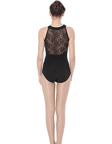 0fcb2af5310 ModLatBal Women s Halter Neck Spandex Cotton Ballet Dance Gymnastics Leotard