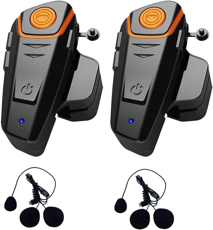 QSPORTPEAK Microfono Cuffie Altoparlante Cavo rigido Accessorio per BTS2 e BTS3 series casco moto Interfono Bluetooth intercom Interfaccia di tipo C