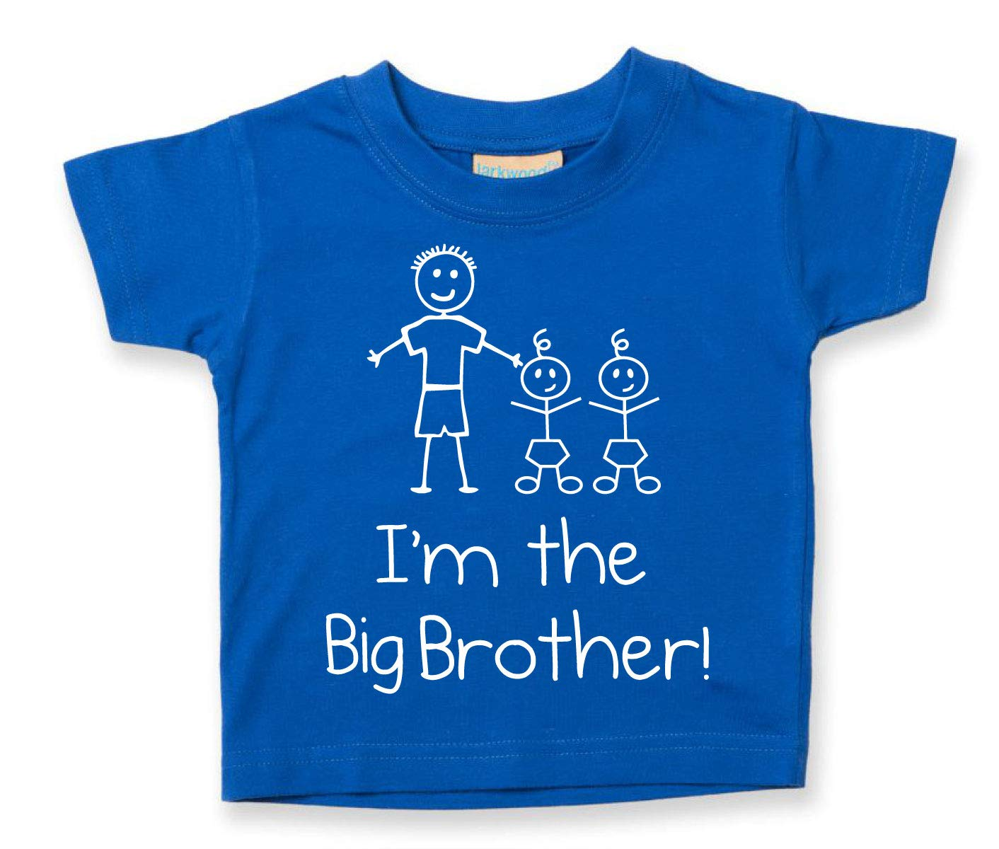 I'm The Big Brother Twins Tshirt Baby Toddler Kids Available in Sizes 0-6 Months to 14-15 Years New Baby 60 Second Makeover Limited