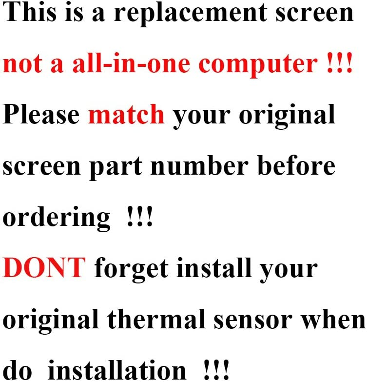 Genuine New LCD Screen Assembly for iMac 27 A1419 LM270QQ1 SDB1 Retina 5K EMC 2834 Late 2015 Year