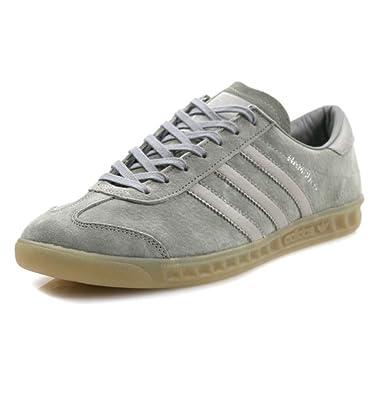 size 40 05ae7 6183b adidas Hamburg Men s Sneakers, Clear Granite Clear Grey Gum, ...