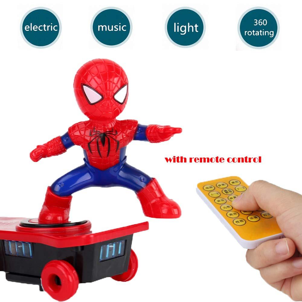 Amazon.com: Rnnst Superhero Spider Stunt - Patinete ...