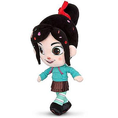 """Disney Store Wreck-it-Ralph Vanellope Von Schweetz Plush Doll 12"""": Toys & Games"""