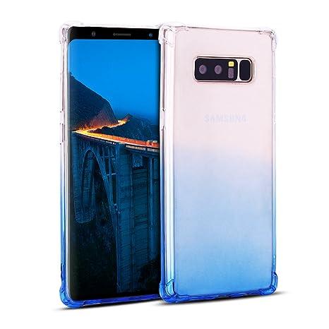 Mosoris Funda para Samsung Note 8 Transparente Note 8 TPU ...