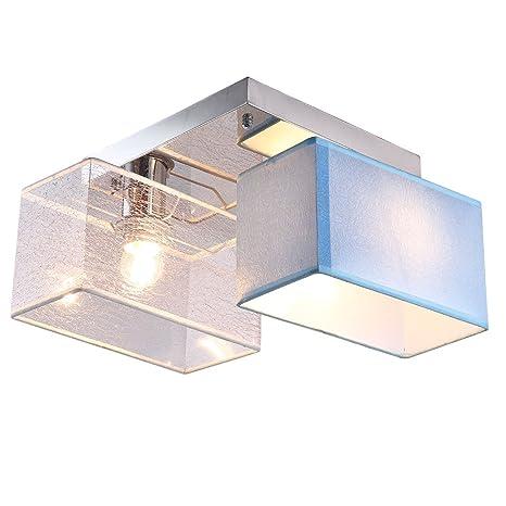 Plafón rectangular lámpara de techo Iluminación de techo ...