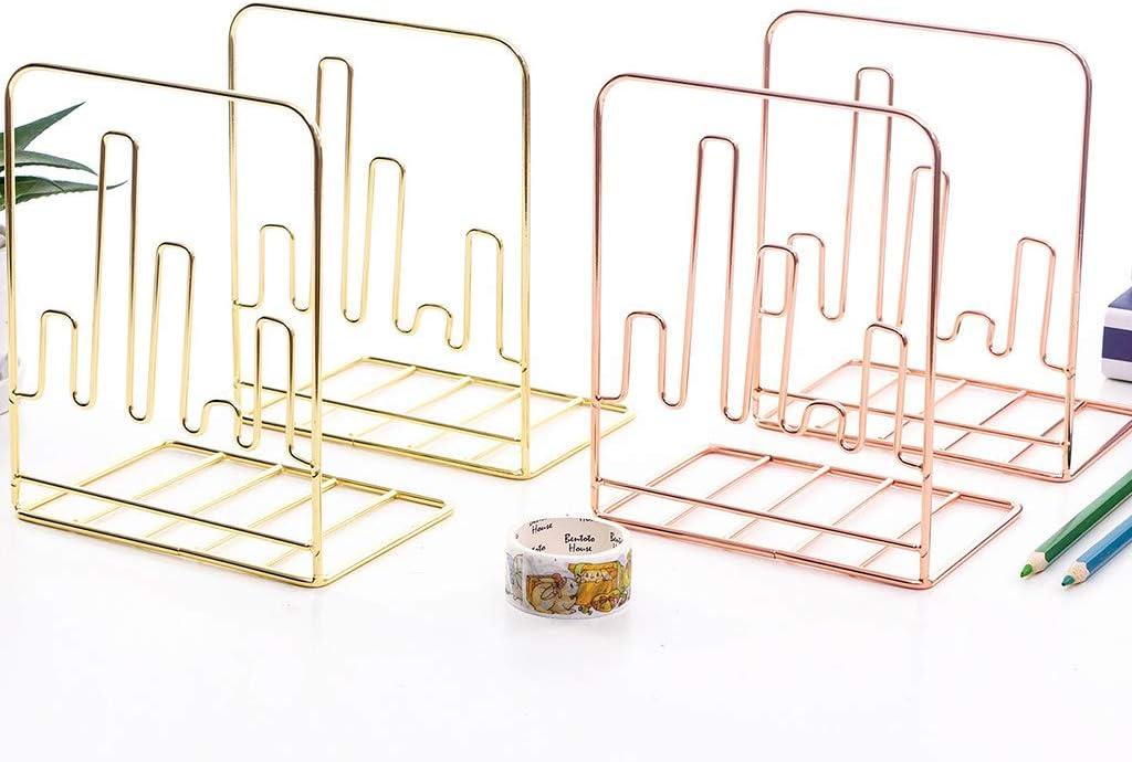 f/ür Kinder rutschfest Metall Mentin Buchst/ütze Form eines Elektrokardiogramms M gold