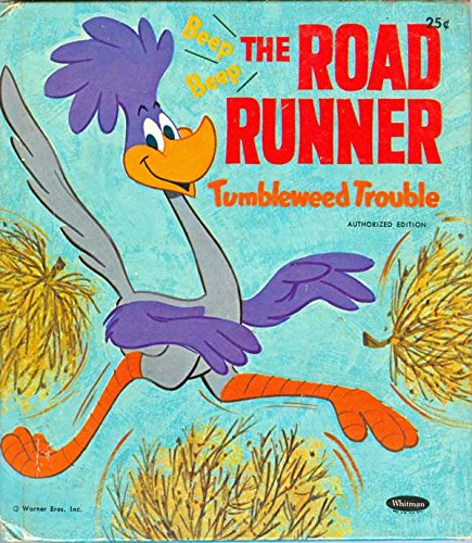 the-road-runner-tumbleweed-trouble-a-whitman-tell-a-tale-book-no-2466