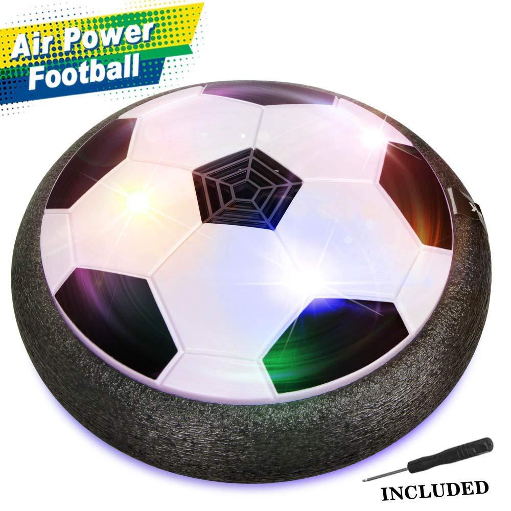 Epoch Air Hover サッカーボール 男の子用おもちゃ、LEDライトとフォームバンパー付きホバー フットボールディスクおもちゃ、屋外、5 6 7 8 11 年用 Old Boy Girl by Epoch Air