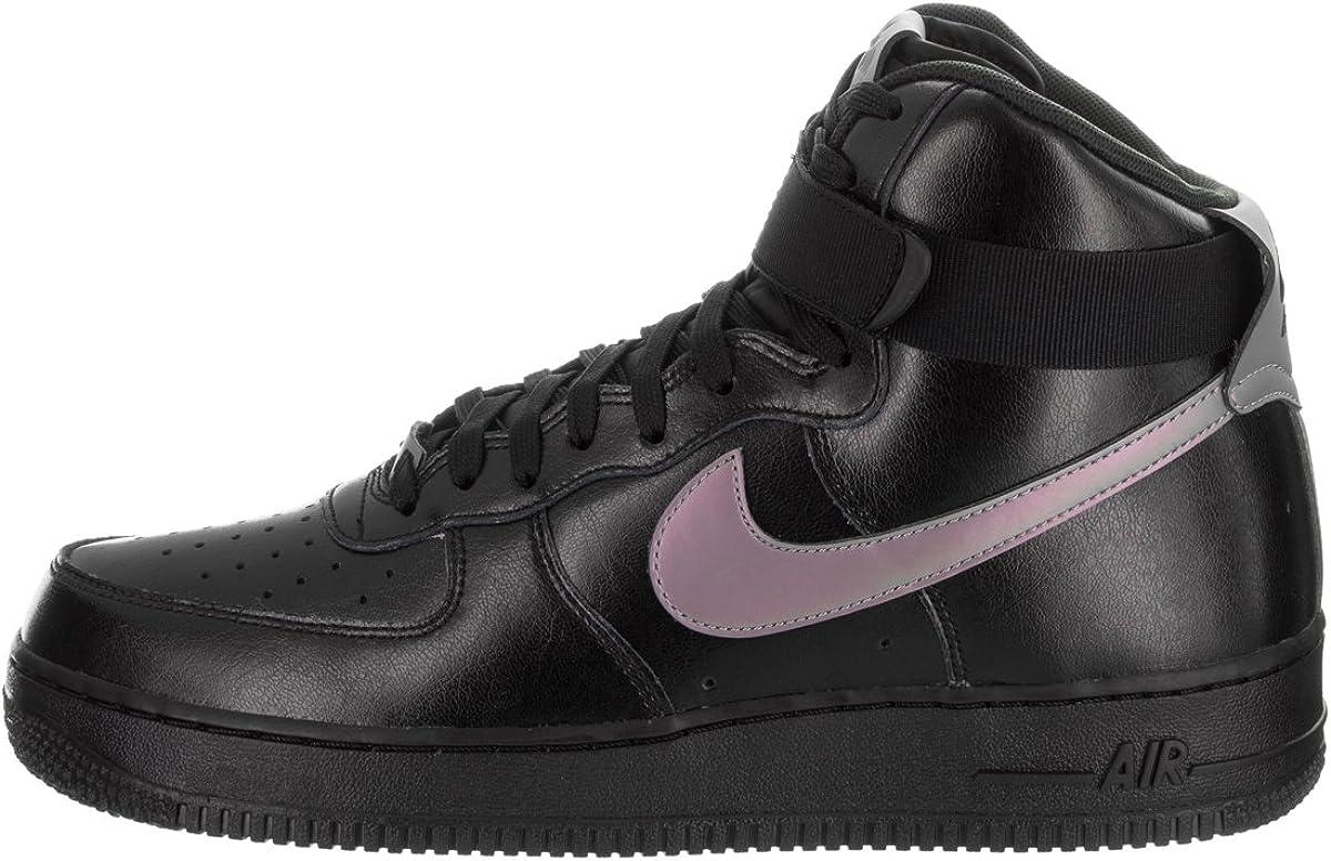 Nike AIR Force 1 HIGH 07 LV8 Mens Basketball-Shoes 806403-011/_9.5 Black//Multi-Color-Black