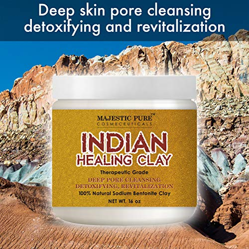 Majestic Pure Indian Healing Clay