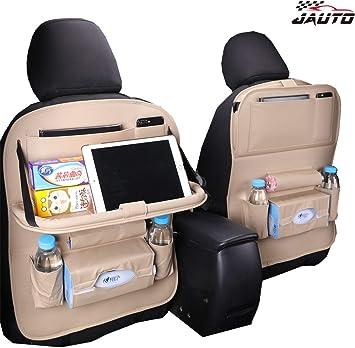 2x CAR SEAT TIDY ORGANISER KIDS TOYS TRAVEL MULTIPOCKET CAR ORGANISER STORAGE