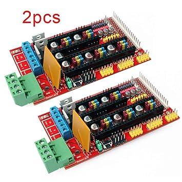 Pinzhi Controlador de Impresora 3D RAMPAS 1,4 Arduino Mega Pololu ...
