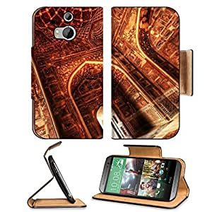 Architecture Hall India Interior Palace HTC One M8 Flip Case Stand Magnetic Cover Open Ports Customized Made to Order Support Ready Premium Deluxe Pu Leather 6 4/16 Inch (158mm) X 3 4/16 Inch (82mm) X 9/16 Inch (14mm) MSD HTC1 cover Professional M 8 Cases