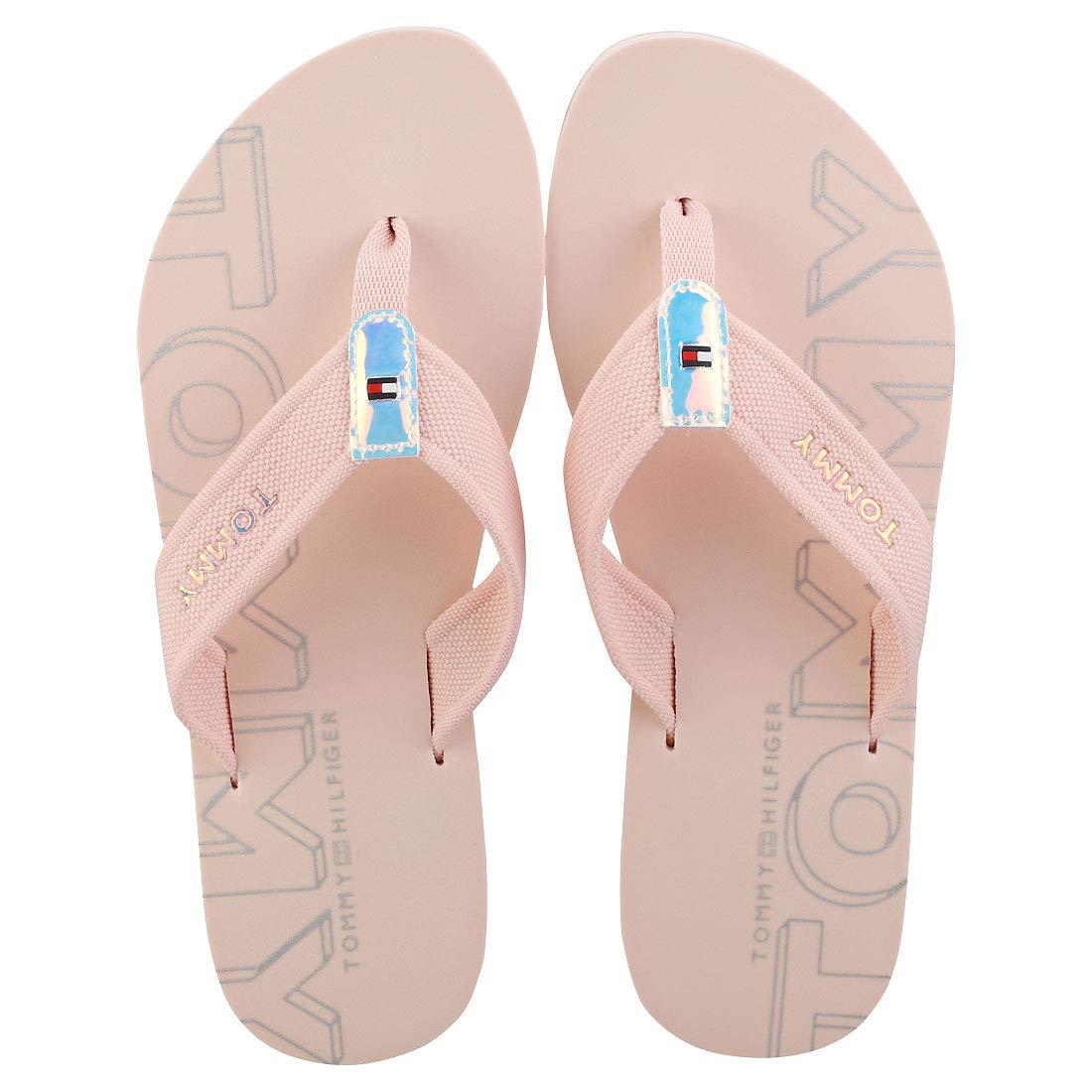 Tommy Hilfiger Iridescent Detail Beach Womens Sandals