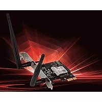 MSI Dual Band AC WiFi Bluetooth 4.2 Largo Alcance inalámbrico PCIe Adaptador de Red Tarjeta (AC905C)