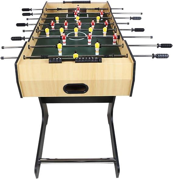 funmall 3 ft futbolín mesa de juego de mesa fútbol máquina – -Best Navidad regalo para familia fiesta entretenimiento: Amazon.es: Deportes y aire libre