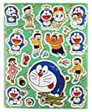 Doraemon and Friends Having Fun Assorted Sticker Set (18 Stickers)