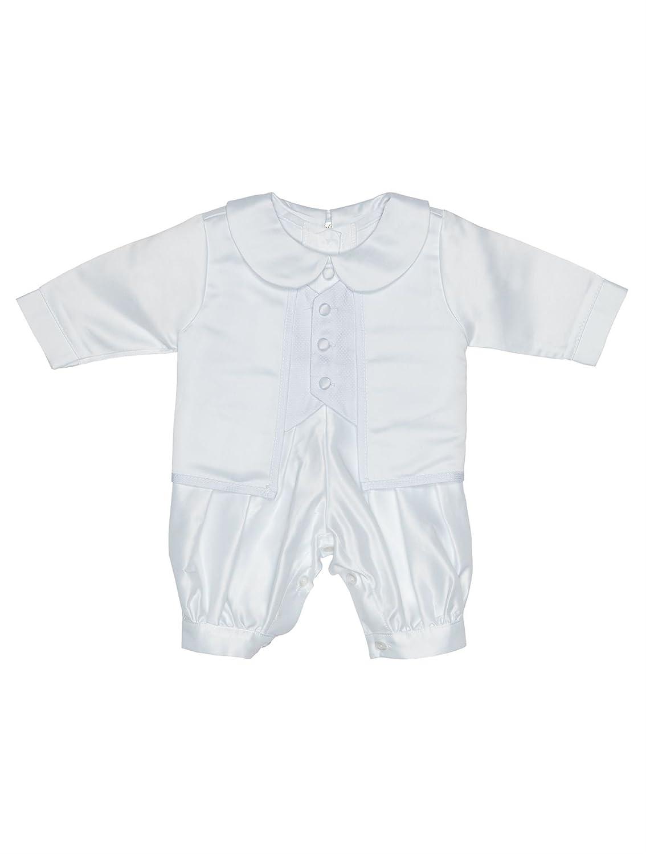Coco Bebe Baby Boys Romper Suit, Baby Boys Christening Outfit, Boys Christening Suit, 0-18 Months