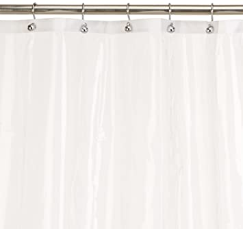 Carnation Home Fashions 10 Gauge PEVA 54 By 78 Inch Shower Curtain Liner,