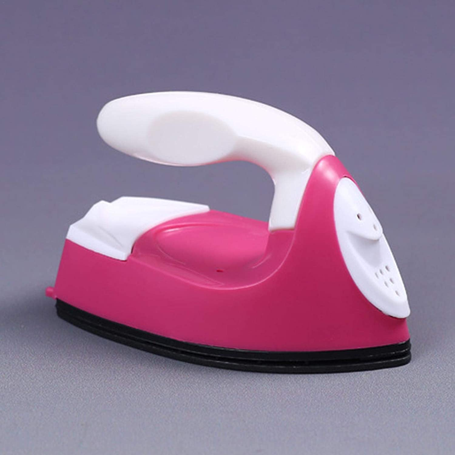Small Portable Travel Clothes Crafting Sewing Supplies Nonstick Soleplate Lightweight Iron Steamers Heat up Fulstarshop Mini Electric Iron Handheld Steamer for Clothes Garment