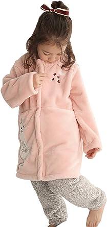 HAHABABY Albornoz Adecuada para Niñas Niños Pijamas Sudaderas Algodón 100% Manga Larga Albornoz Microfibra Albornoces De Baño Toalla Playa Disponible en Varias Tallas Batas,Pink,120: Amazon.es: Ropa y accesorios