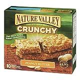 Nature Valley Crunchy Peanut Butter,  10-Count, 230 Gram
