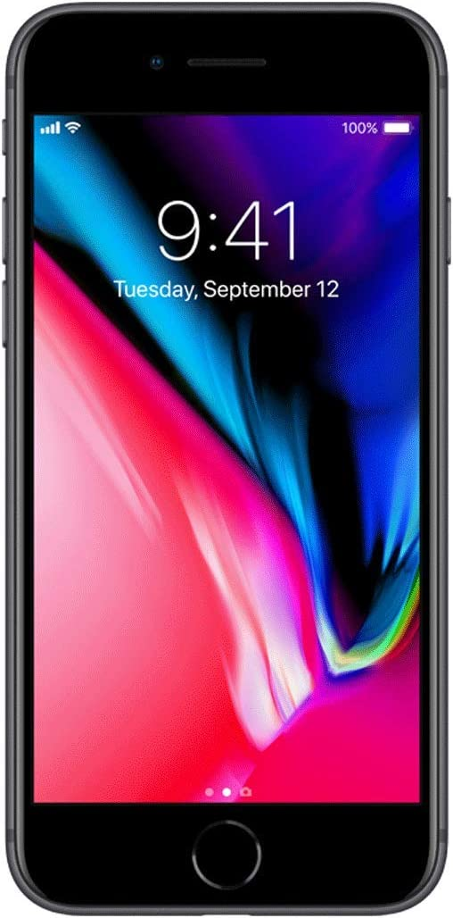 Apple iPhone 8 Plus, 64GB, Space Gray - For Verizon (Renewed)