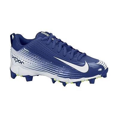 Nike Boy's Vapor Keystone 2 Low (GS) Baseball Cleat Rush Blue/White Size