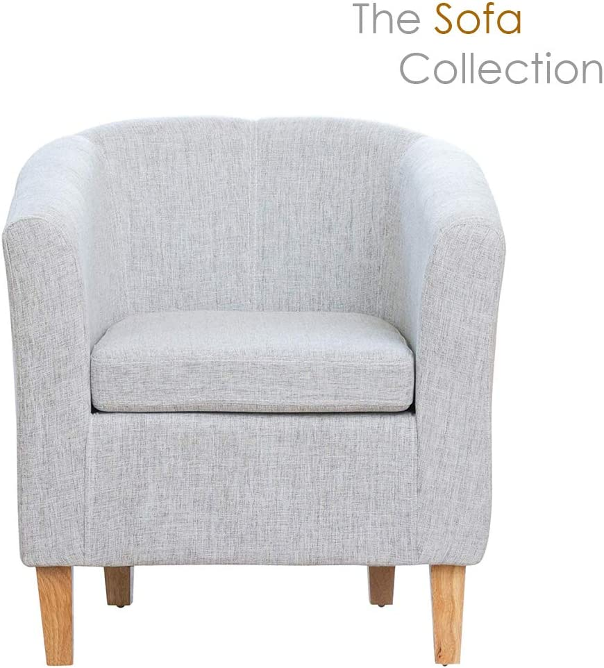 Beige Sofa Collection Finistere Fabric Tub Chair