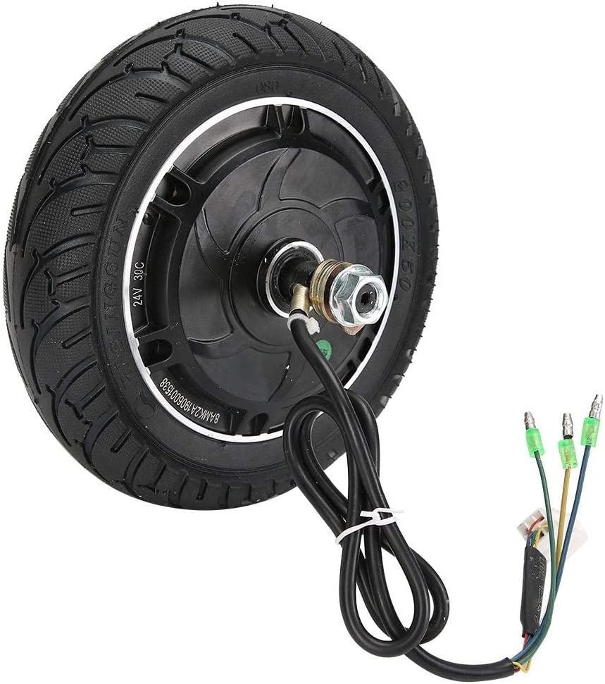 Liukouu Kit de Motor de Bicicleta eléctrica de Rueda Delantera/Trasera de 8