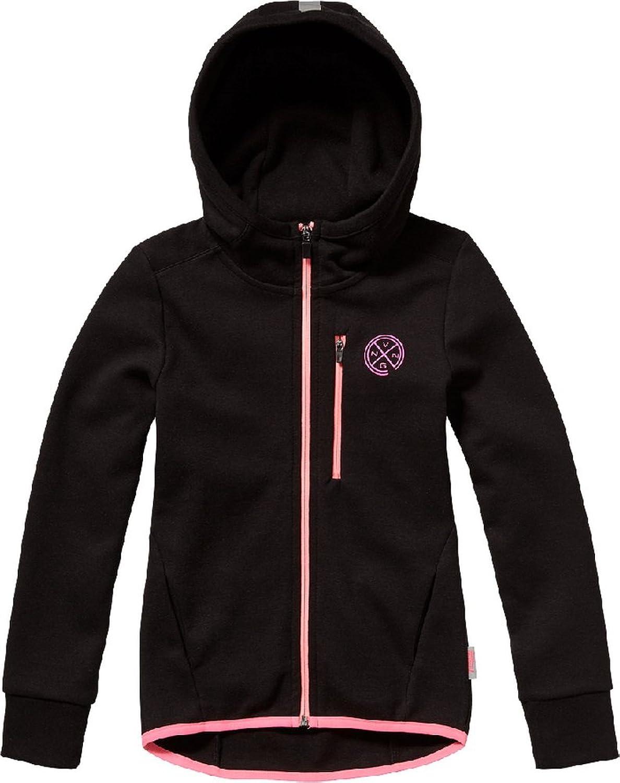 Vingino Mädchen Merinque Sportswear Jacke black SW16KGN34001