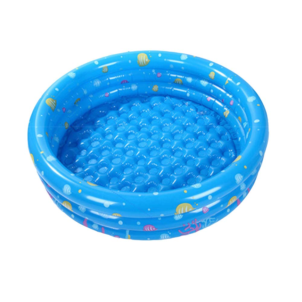 JINMM Familia Piscina Inflable,Piscinas Hinchable 3 Aros130x38 ...