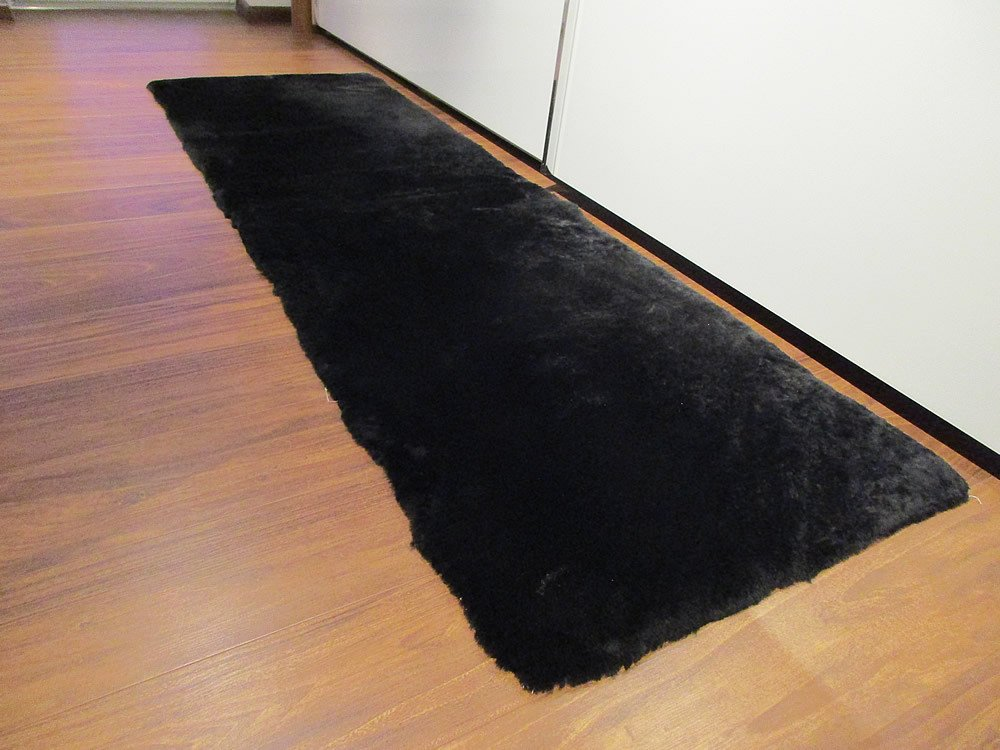 Reissner Lammfelle Lammfell Teppich Couchauflage Bettvorleger 140x60cm (Kurzflor) gobi B0099RY25E Teppiche
