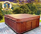 MySpaCover Hot Tub Cover and Spa Cover Replacement- 5 Inch taper, Any Shape Any Size up to 96'