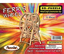 3-D Wooden Puzzle - Ferris Wheel -Affordable Gift for your Little One! Item #DCHI-WPZ-P033