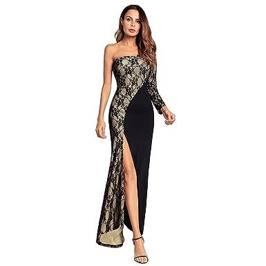 Sexy hoch geschlitztes Kleid