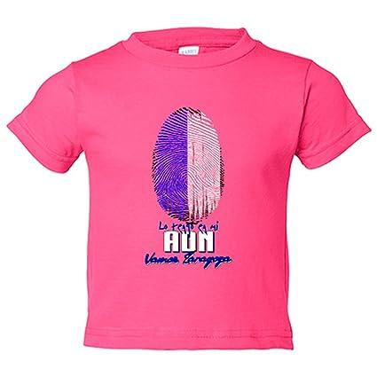 Camiseta niño lo tengo en mi ADN Zaragoza fútbol - Rosa, 12-14 años