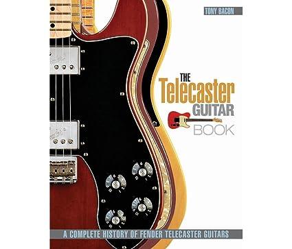 Fender Telecaster guitarra libro, Bacon