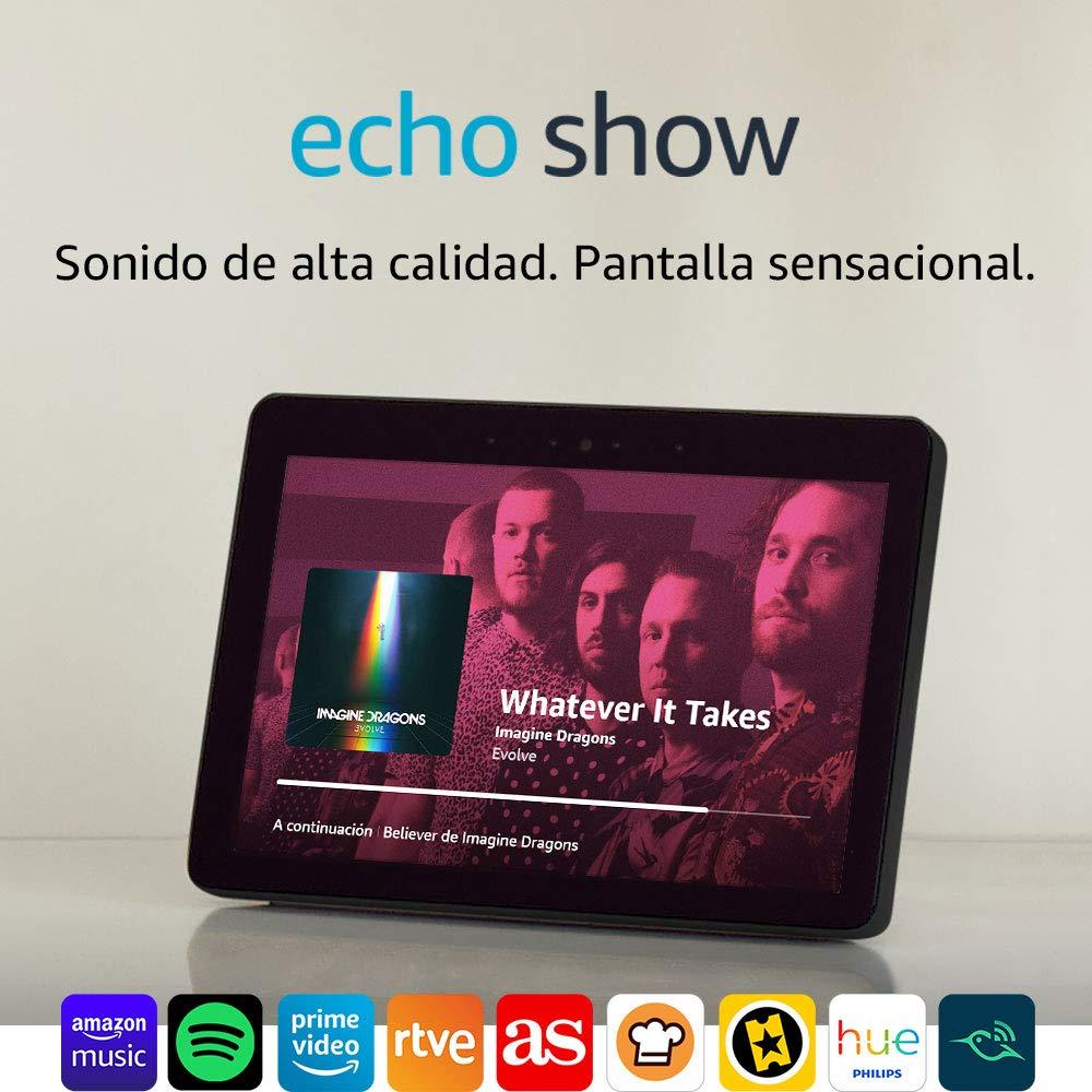 Altavoz con pantalla Alexa Echo Show (2.ª generación) por 189,99€ ¡¡Ahorras 40€!!