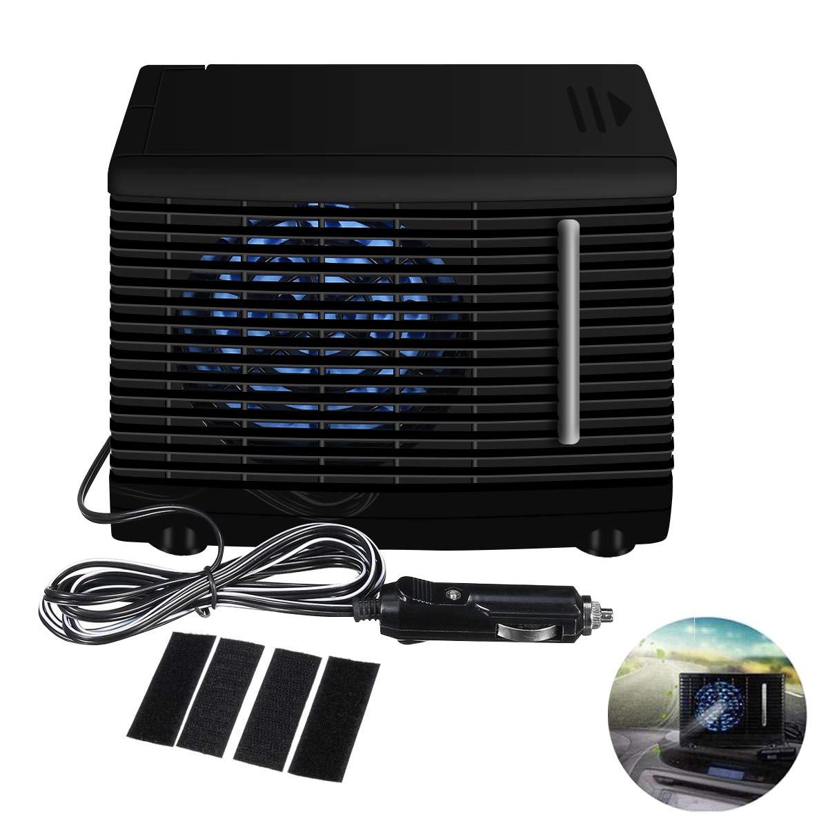 ACMEDE Car Air Conditioner DC12V Portable Car Cooler Cooling Fan Mini Evaporative Air Cooler