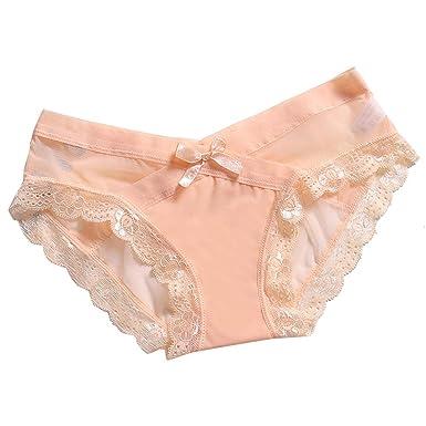Damen Unterwäsche Frauen Höschen Durchsichtig Schlüpfer Unterwäsche Höschen