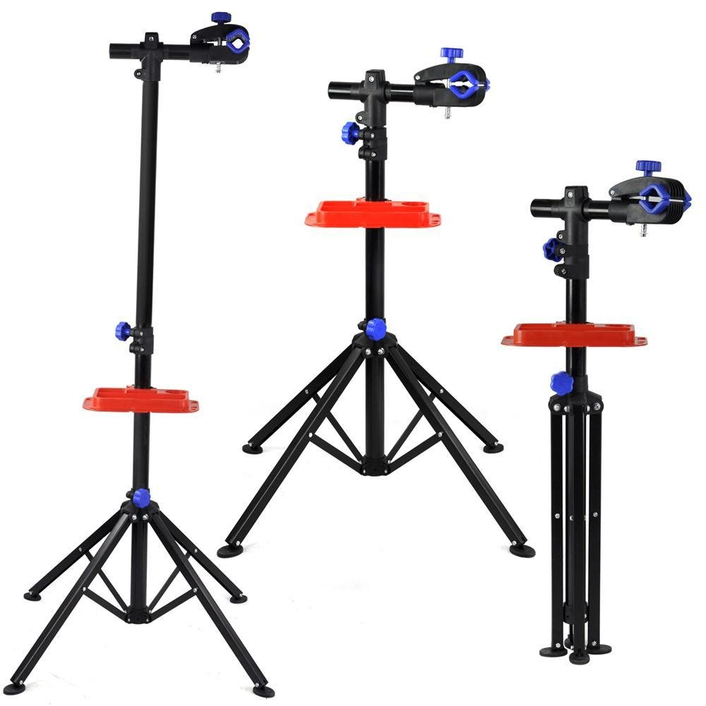 tinxs Home Mechanic Folding Foldable Bike Cycle Bicycle Maintenance Repair Stand Workshop Tool