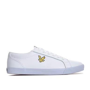 9f1a6ccf7dc81 Amazon.com: Lyle & Scott Halket Mens Sneakers White: Clothing