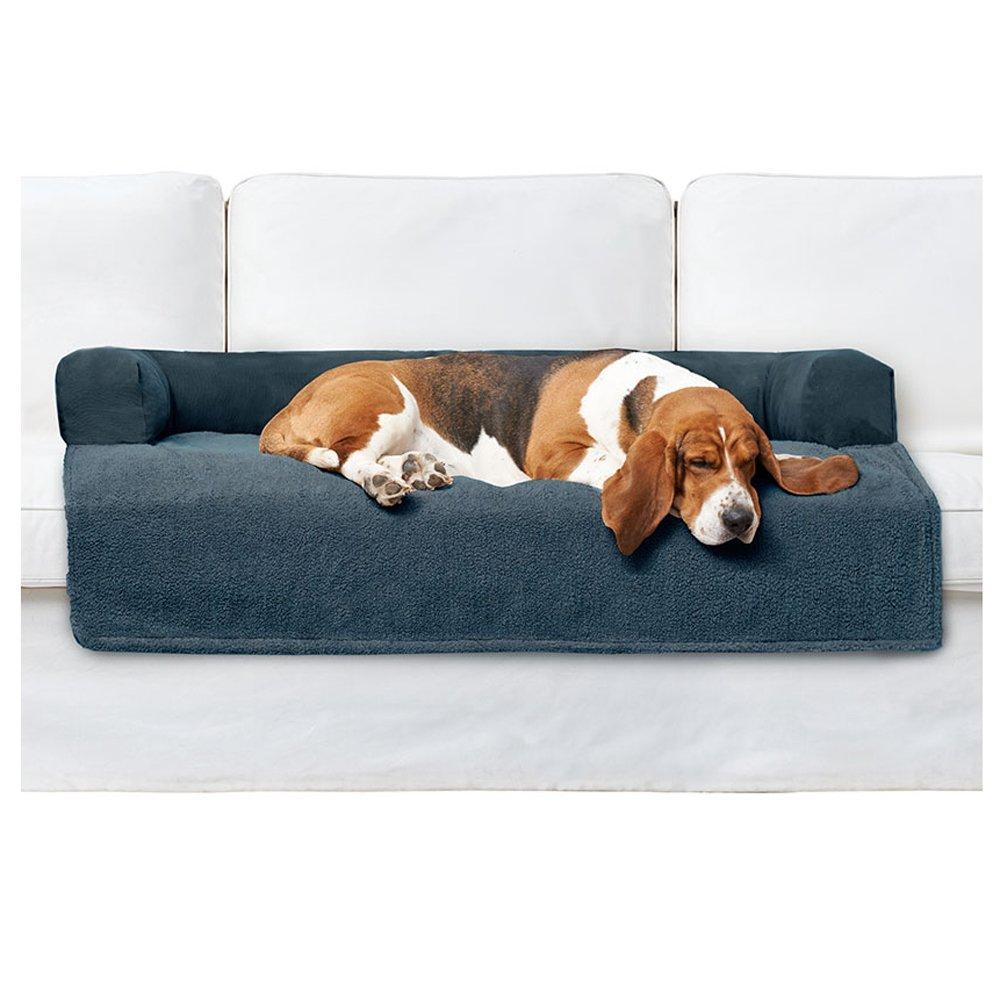 Tan Small Medium Tan Small Medium PawTex Premium Couch Cover Dog Bed, Small Medium, Tan