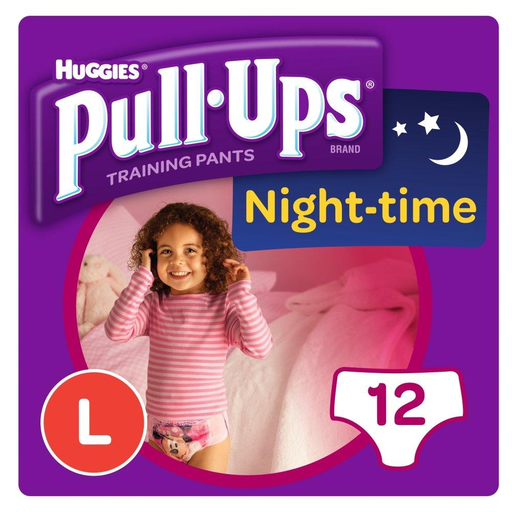 Huggies Pull Ups Night Time Potty Size Jumbo Training Pants Girls, 16 to 23 kg, Large Kimberly-Clark Ltd 108953639