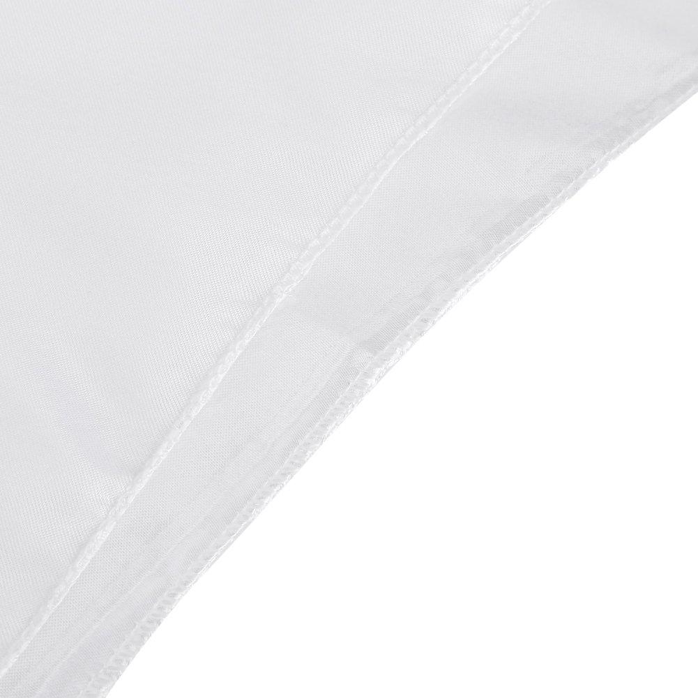 145x320 cm Tovaglia Rettangolare a Forma di tovaglia Tovaglia per Banchetti antimacchia Decorazioni per Feste di Nozze Tovaglie per Feste Aufee Tovaglia Nero