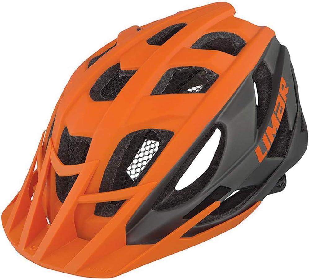 Limar 888 Fahrradhelm //// orange//Titan matt